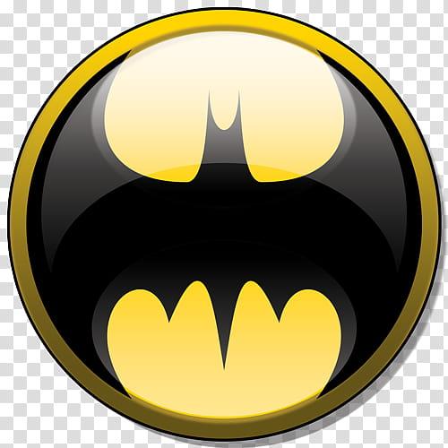 Batman Icon, Batman logo transparent background PNG clipart.