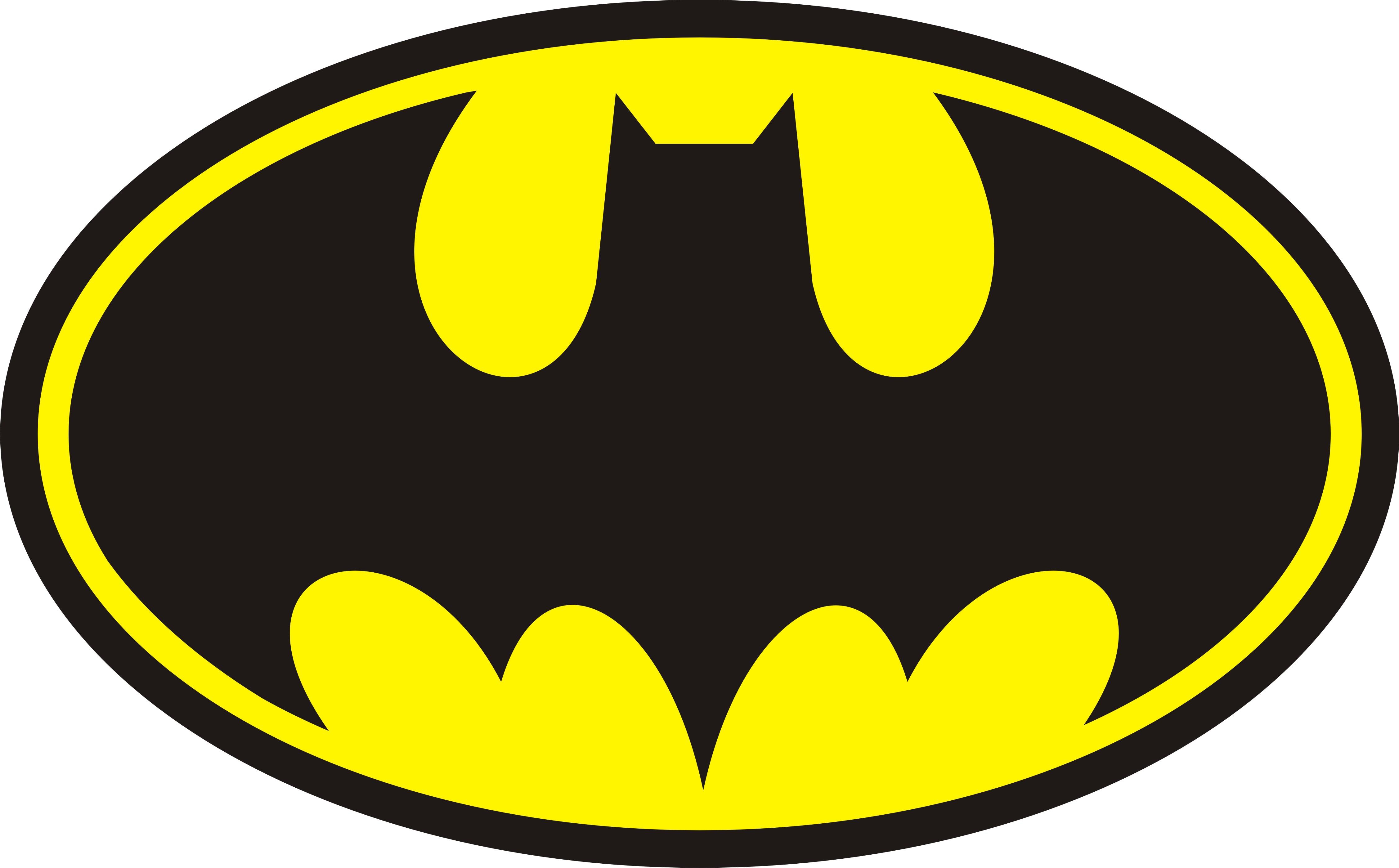 Free Batman Logo Outline, Download Free Clip Art, Free Clip.