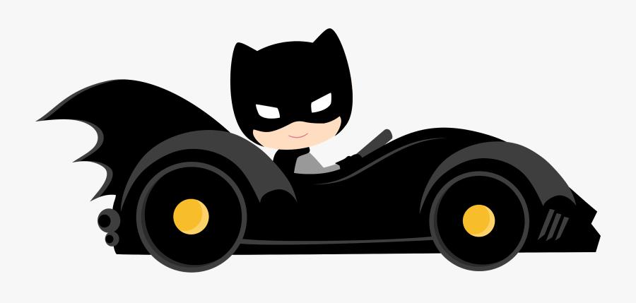 Characters Of Batman Kids Version Clip Art.