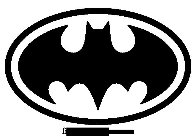 Batman Emblem Silhouette.
