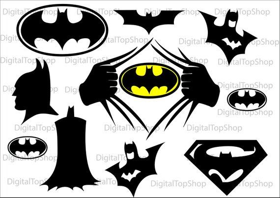 Batman logo svg.