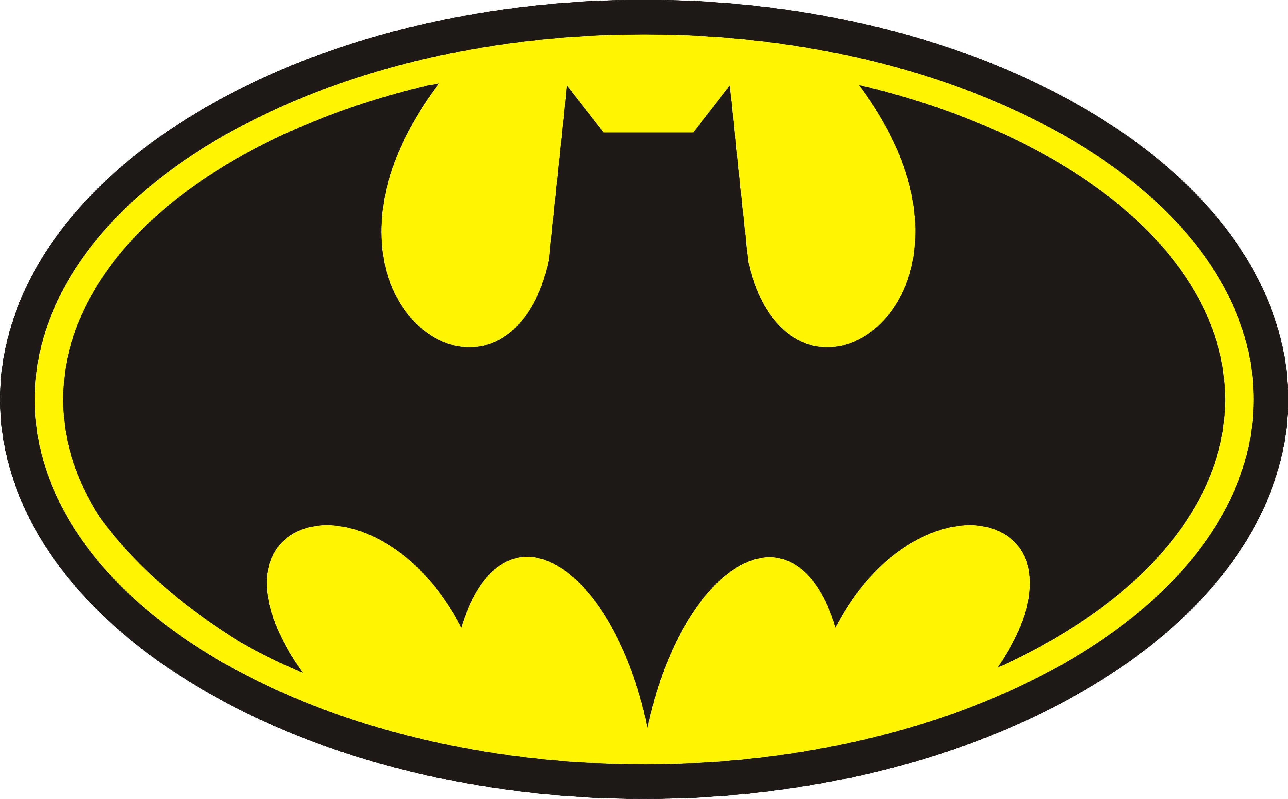 Batman Symbol Coloring Pages Tattoo.