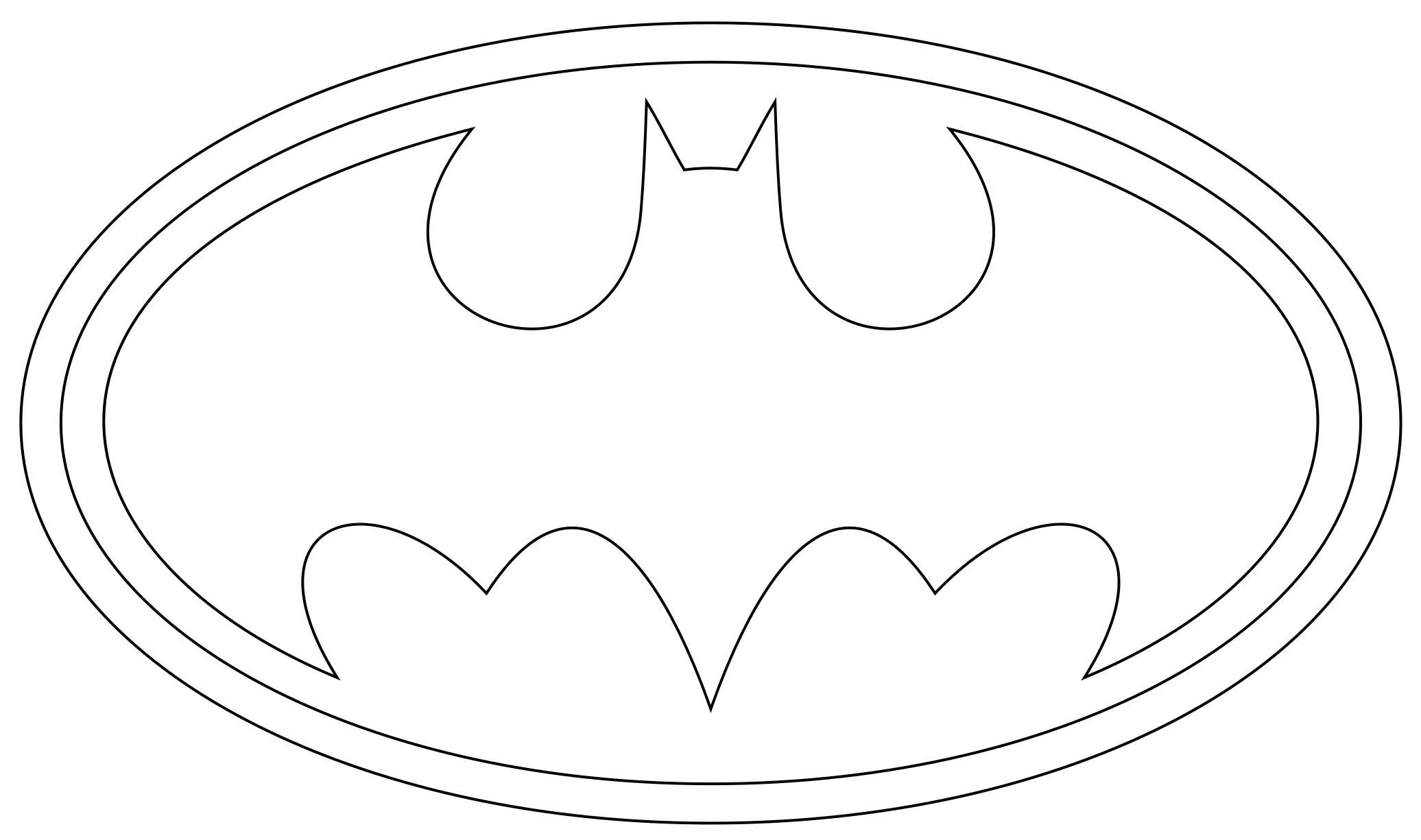 Free Batman Logo Coloring Pages, Download Free Clip Art.
