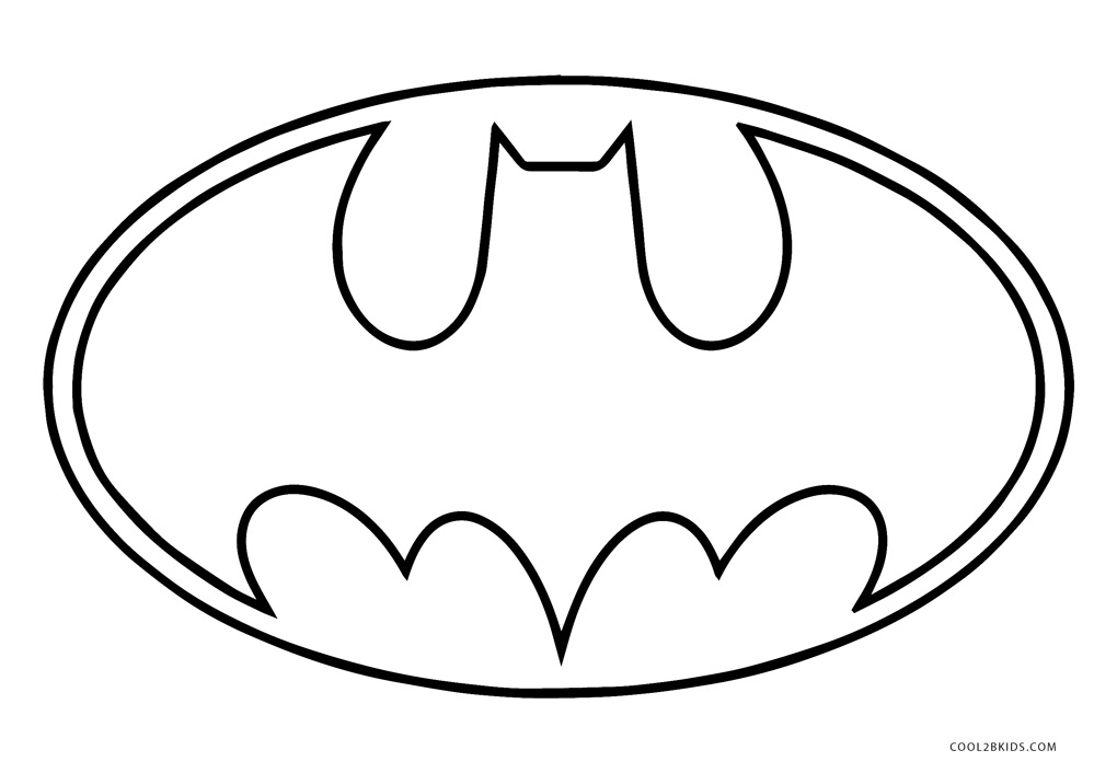 Free Printable Batman Coloring Pages For Kids.