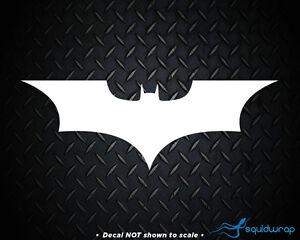 Details about Batman Logo Emblem Superhero Dark Knight Car Decal / Laptop  Sticker.