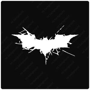 Details about Batman Dark Knight Rises Symbol Vinyl Decals Stickers, LOGO  BANE DC COMICS.