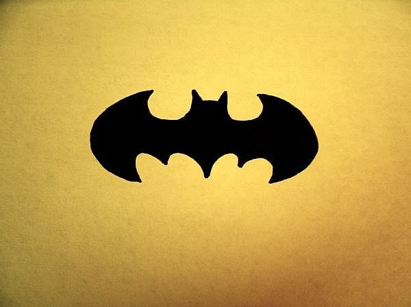 How to Draw the Batman Logo Step by Step.
