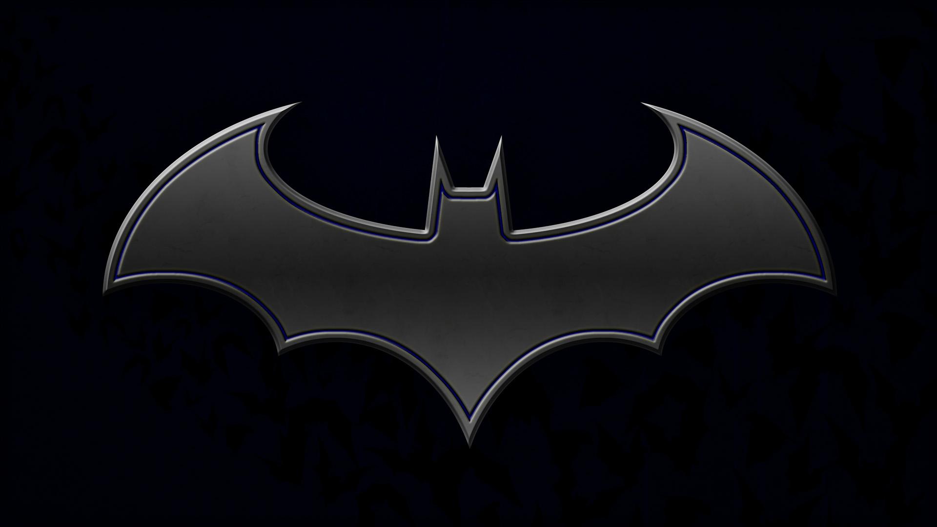 47+] Cool Batman Logo Wallpaper on WallpaperSafari.