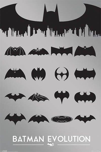 Batman (Logo Evolution) POSTER 61x91cm NEW.