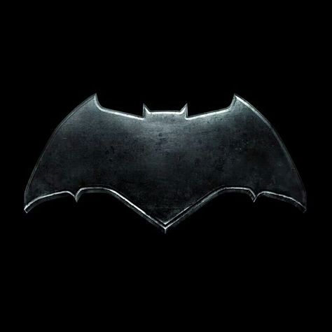 The Batman logo for Ben Affleck.