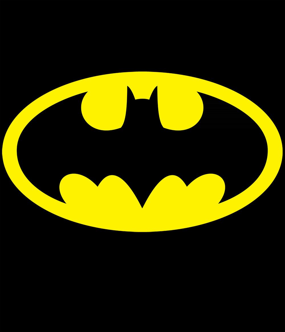 Camiseta Batman, logo.