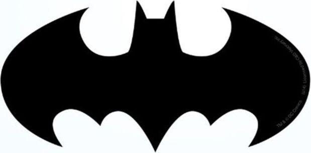 Licenses Products Dc Comics Batman Logo Sticker price in Dubai, UAE.