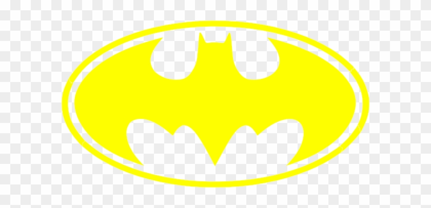 Batman Logo Yellow Bat.