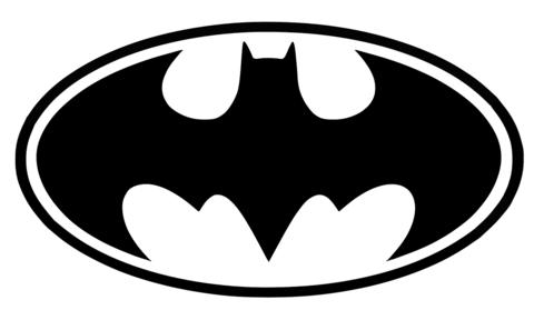 Batman Logo Printable Template.