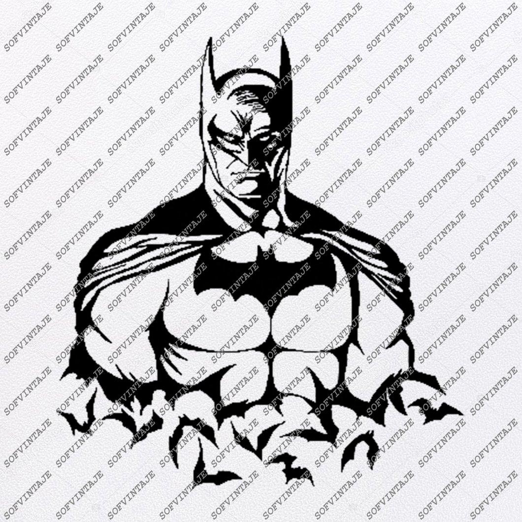 Batman Svg File.