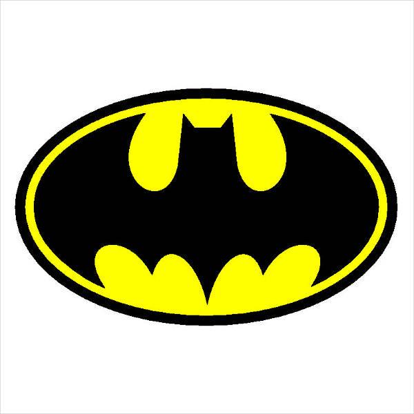 Batman Logo Template 2.