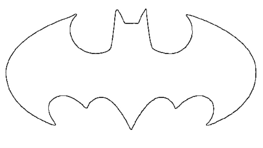 Free Batman Symbol Stencil, Download Free Clip Art, Free.
