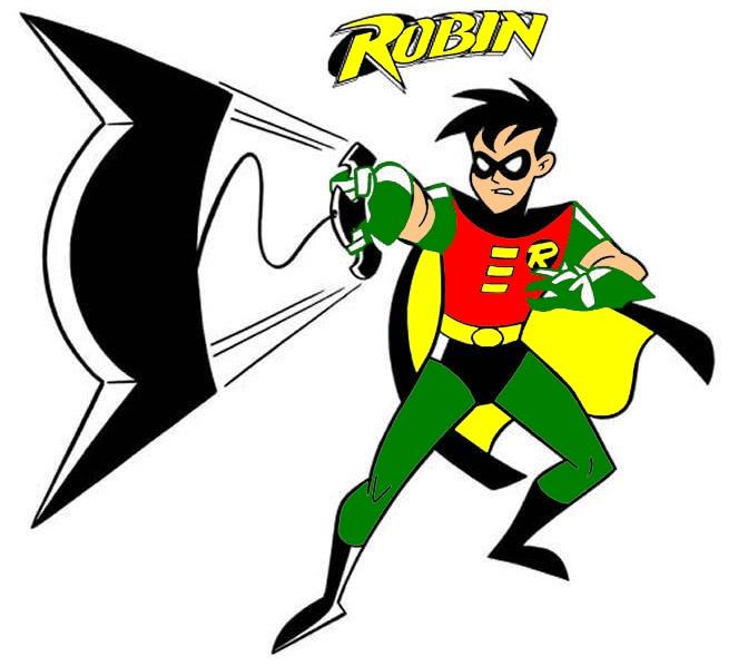 Batman and robin clipart 1 » Clipart Station.