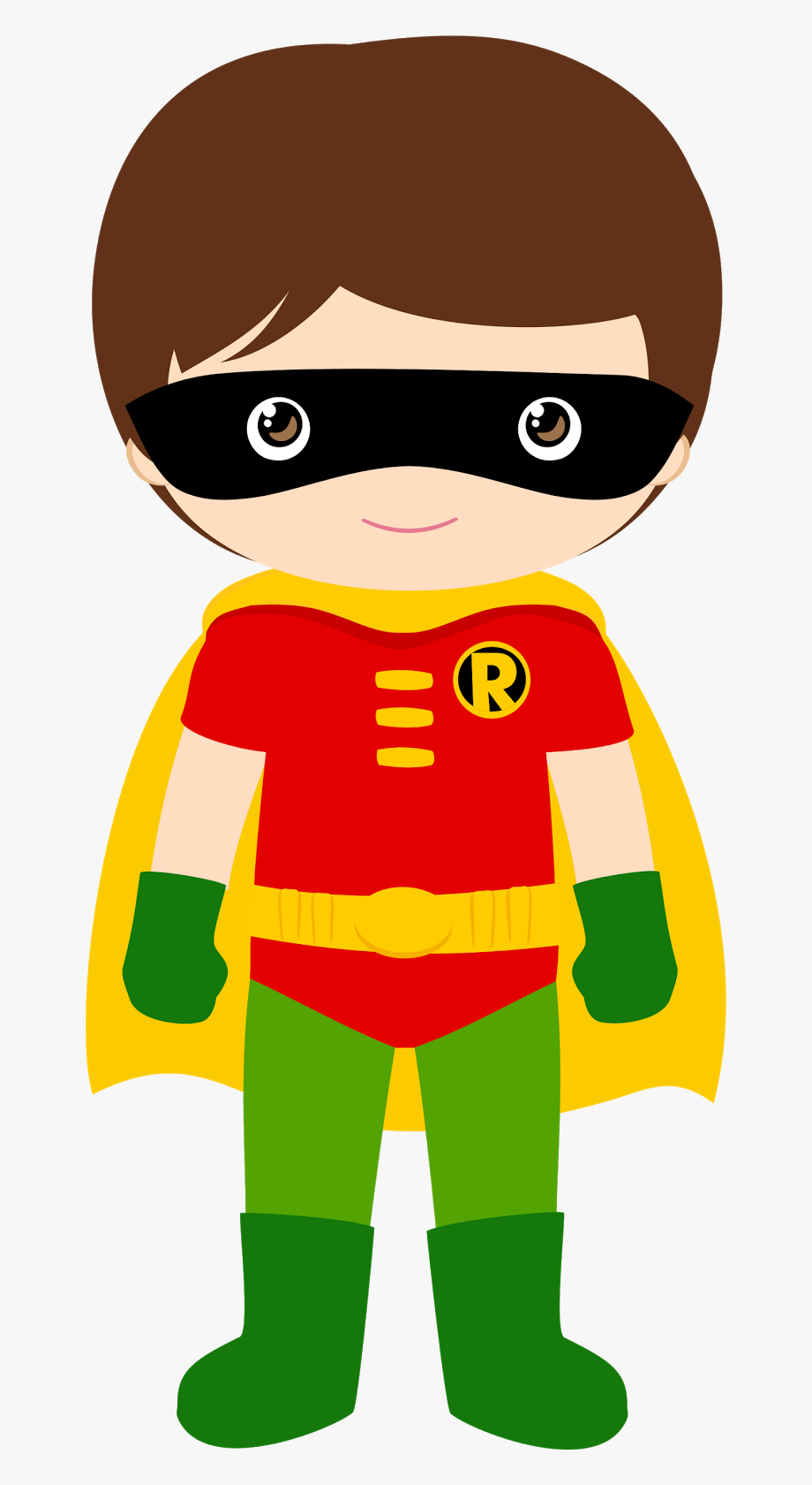 Robin Boy Wonder Clipart 4 By Barry.