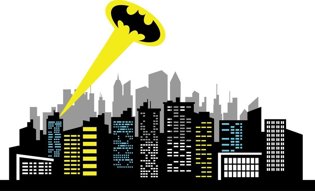 Collection of free Cities clipart batman. Download on.