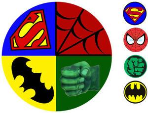 Details about Marvel Superhero Hulk Spiderman Superman Batman 8