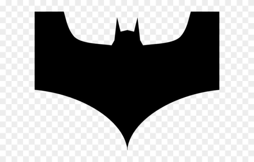 Drawn Bat Symbol.