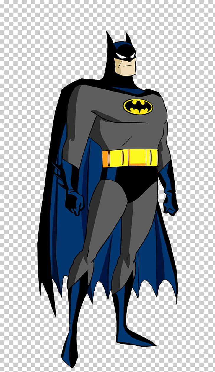 Batman Joker Batsuit Cartoon DC Animated Universe PNG.