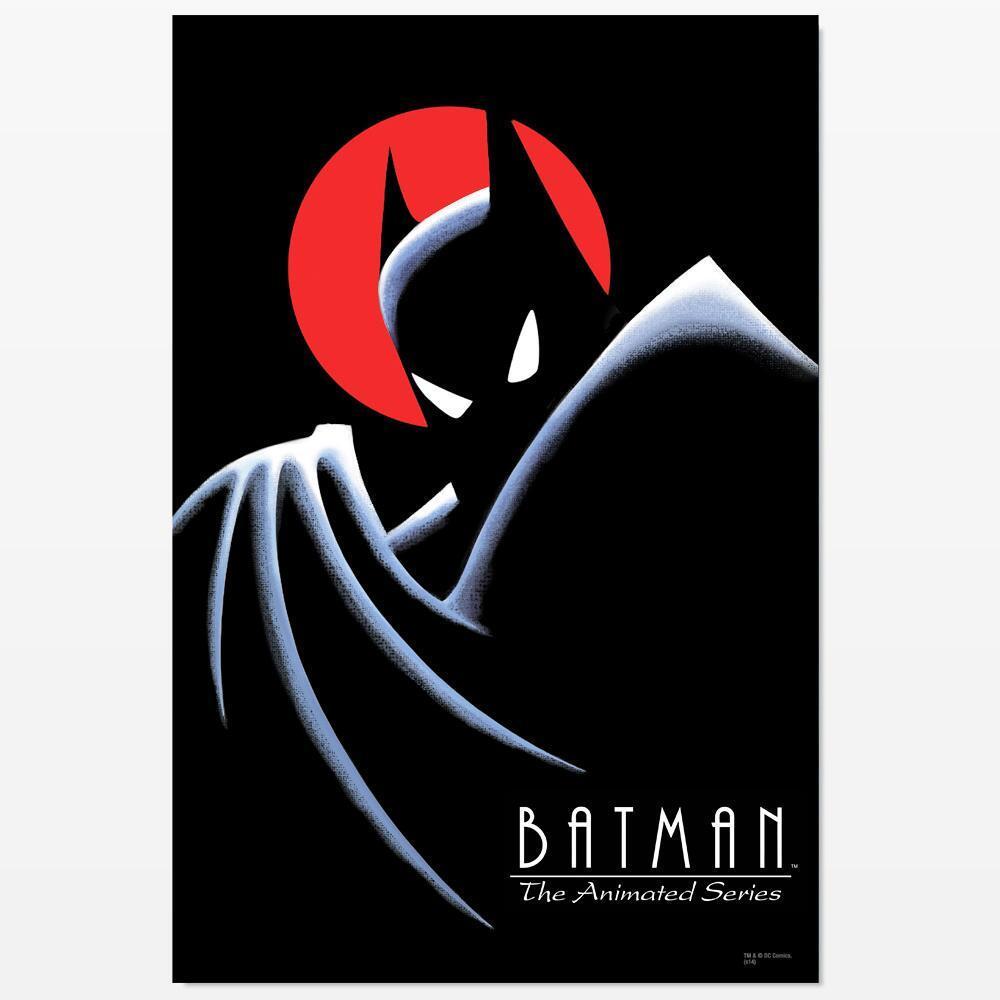 Batman: The Animated Series Dark Deco Poster.