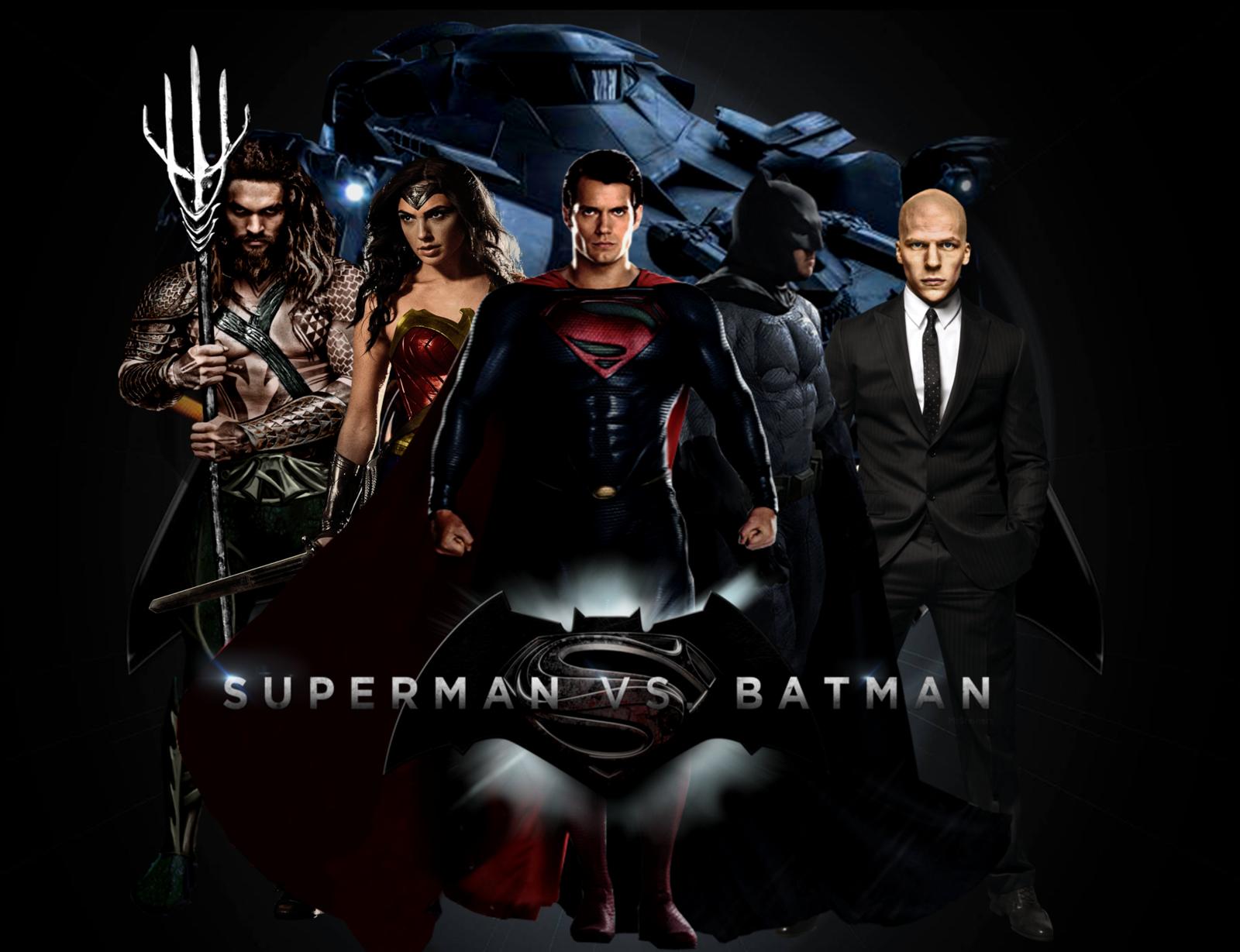 Batman V Superman Clipart 1080p.