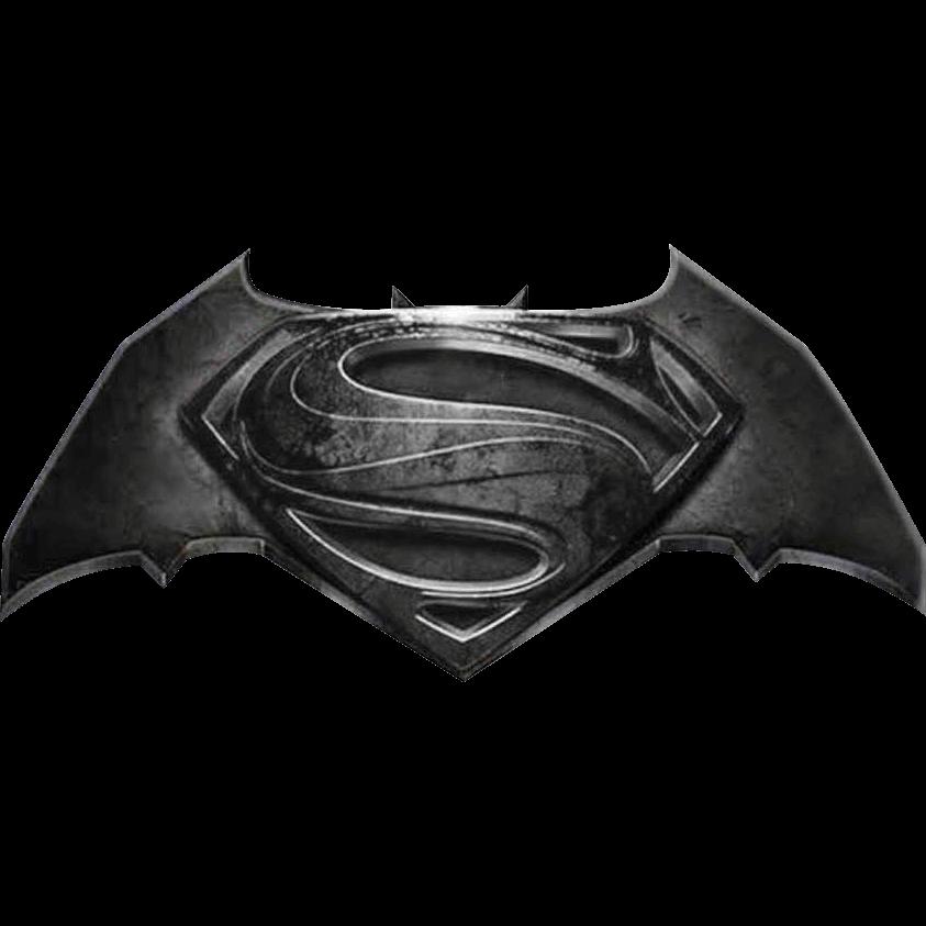 Deluxe Batman V Superman Logo Lapel Pin.