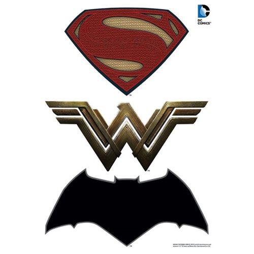 Details about Batman v Superman: Dawn of Justice Logos Car Graphics Set.