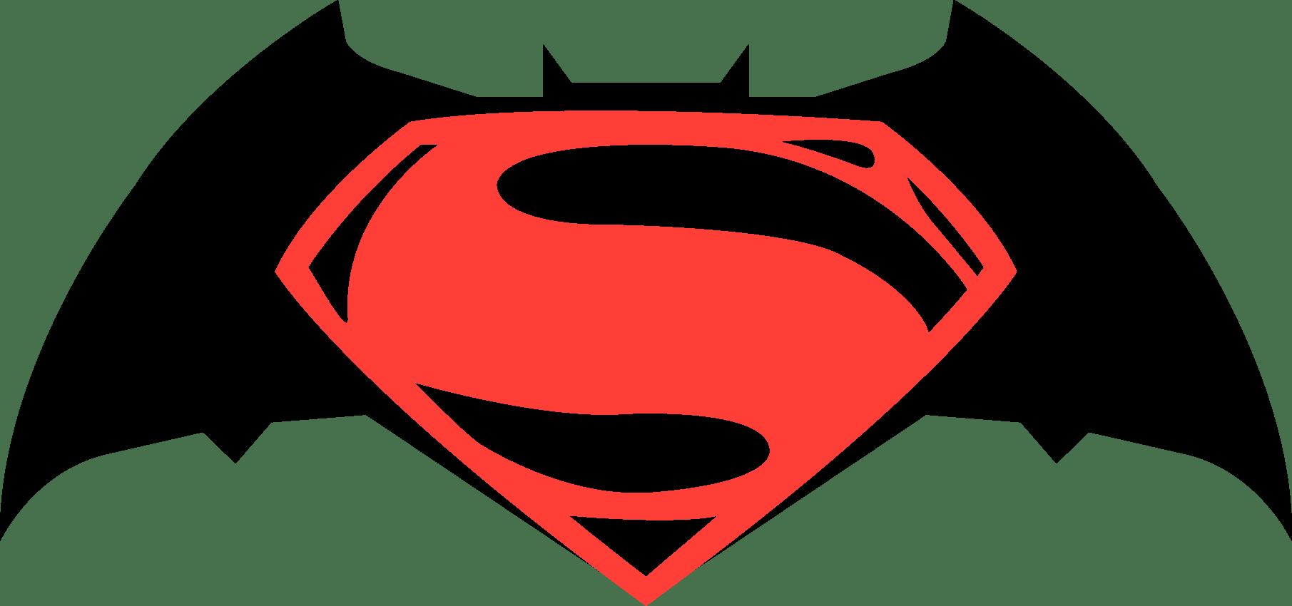 Batman vs Superman Logo.
