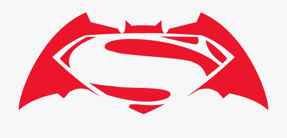 Batman V Superman Clipart Transparent.
