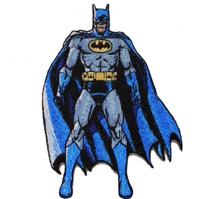 DC Comics Batman The Dark Knight Full Body Iron on Applique.