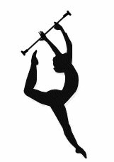 Baton Twirling ClipArt.