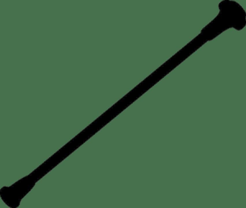 Stick Baton transparent PNG.