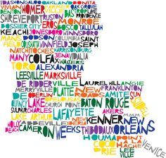 Louisiana Clip Art Free.