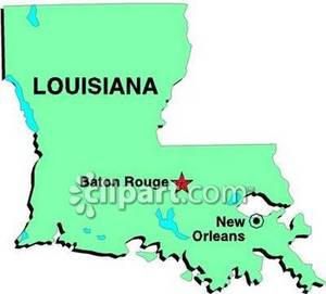 Rouge Louisiana.