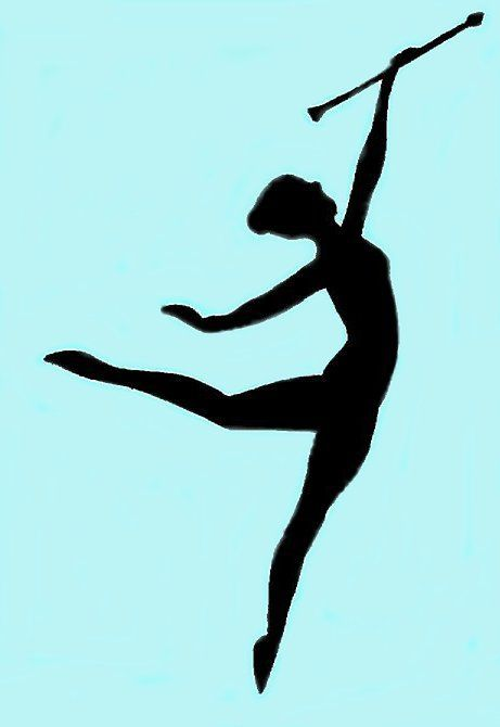 26 Awesome baton twirling clip art.
