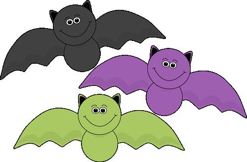 Halloween Bats Clipart.