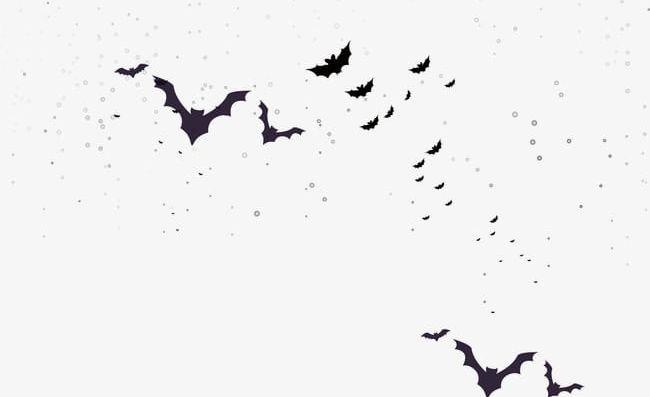 Flocks Of Bats PNG, Clipart, Bat, Bats Clipart, Bats Clipart, Black.