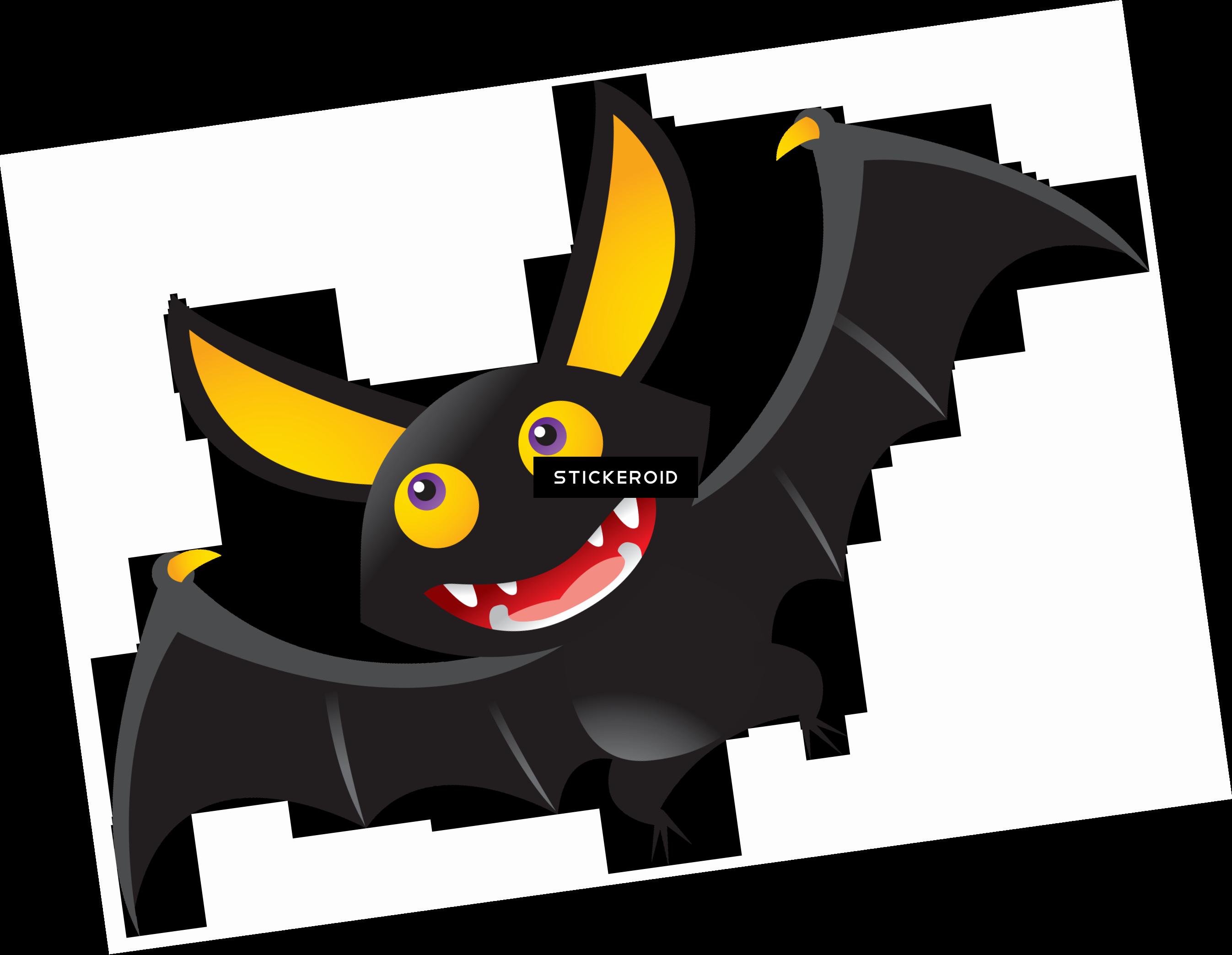 Cute Halloween Bat Clipart , Png Download.
