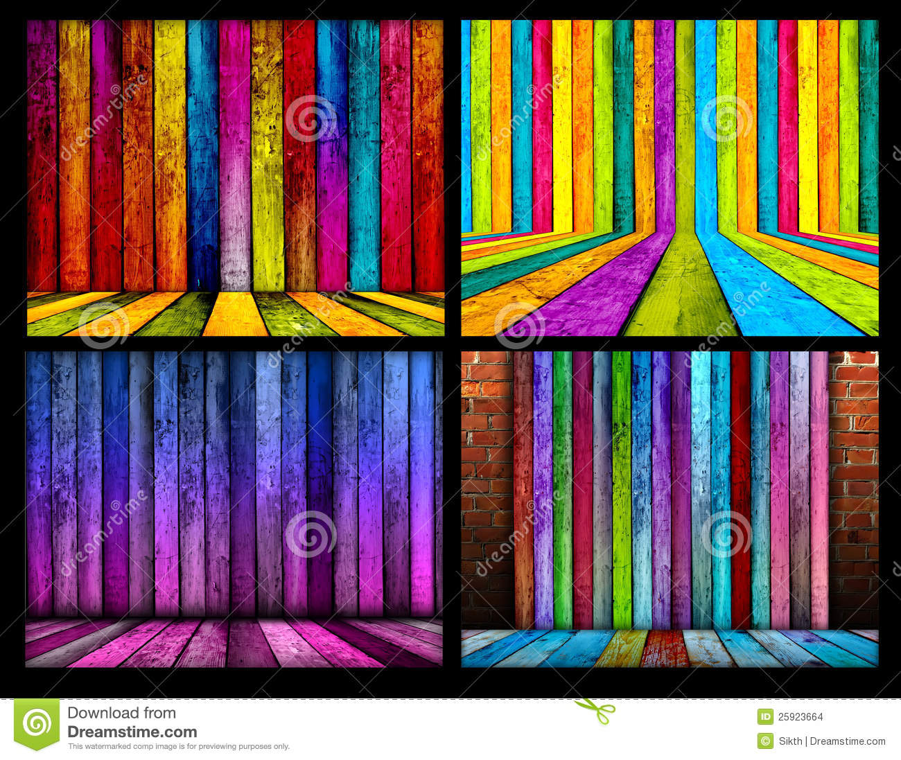 Batten Texture Stock Illustrations.