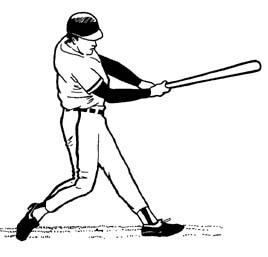 Batter Clipart.