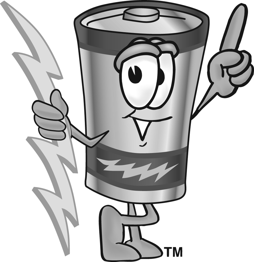 Battery Clipart Page 1.