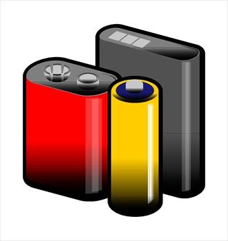 Car Battery Clipart.