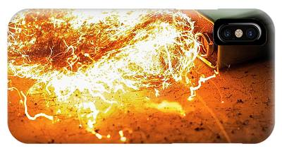Battery And Steel Wool.