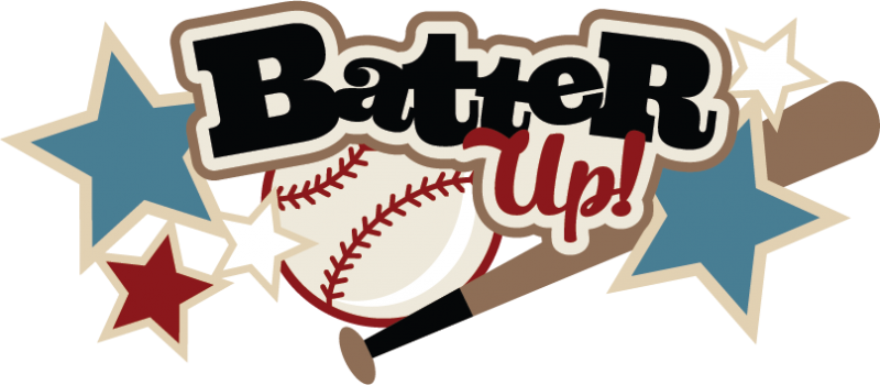 Batter Up SVG scrapbook title baseball svg files baseball svg cut.