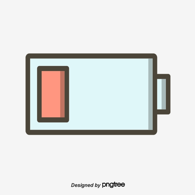 Geometric Rectangular Battery Charge Icon, Geometric, Icon, Fill PNG.