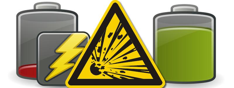 Battery explosion clipart #6